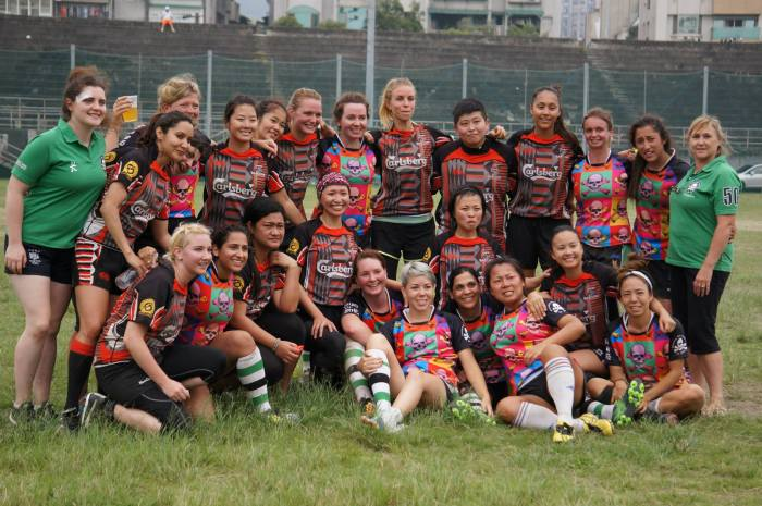 Taipei Baboons Ladies - Discovery Bay Pirates Ladies