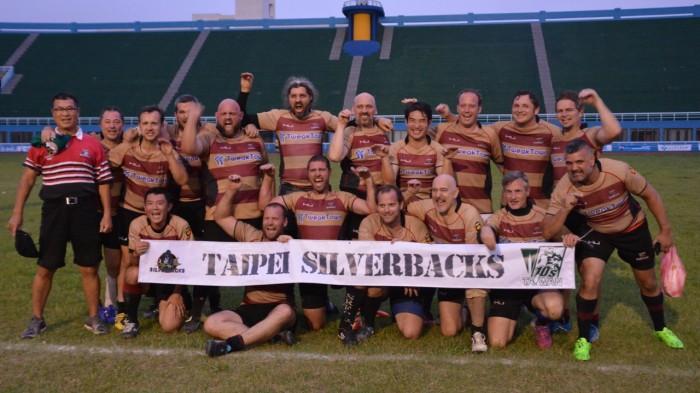 Taipei Silverbacks - Taiwan 10s - 2015